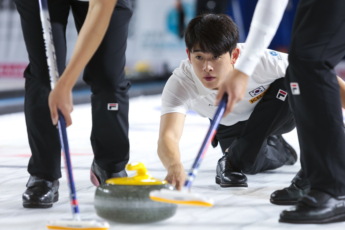 South Korea secured top spot in the men's round-robin standings ©WCF/Tom Rowland
