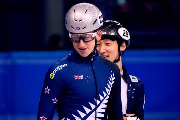 Short track speed skater De Rose named to New Zealand's team for Lausanne 2020