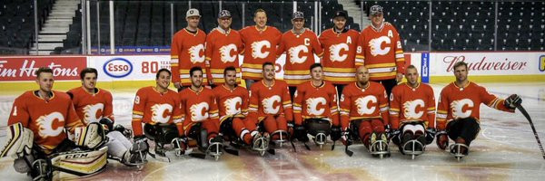 Calgary Flames sponsor Para-ice hockey team for USA Hockey Sled Classic