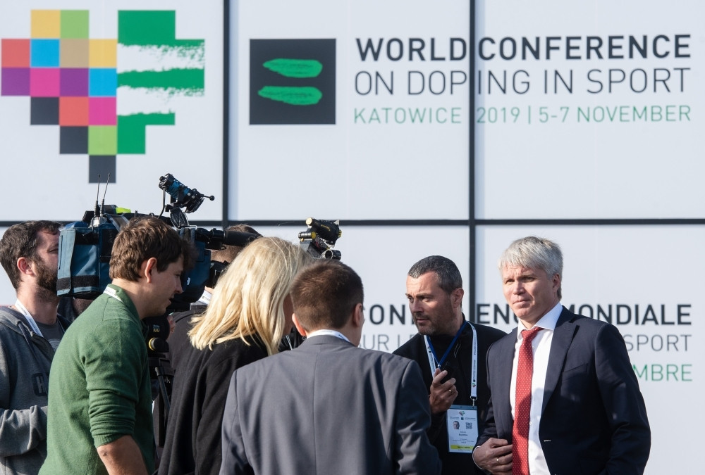 Russia's Sports Minister Pavel Kolobkov has claimed that data retrieved by WADA from the Moscow Laboratory in January was not manipulated and they will be able to clear up the questions ©Getty Images