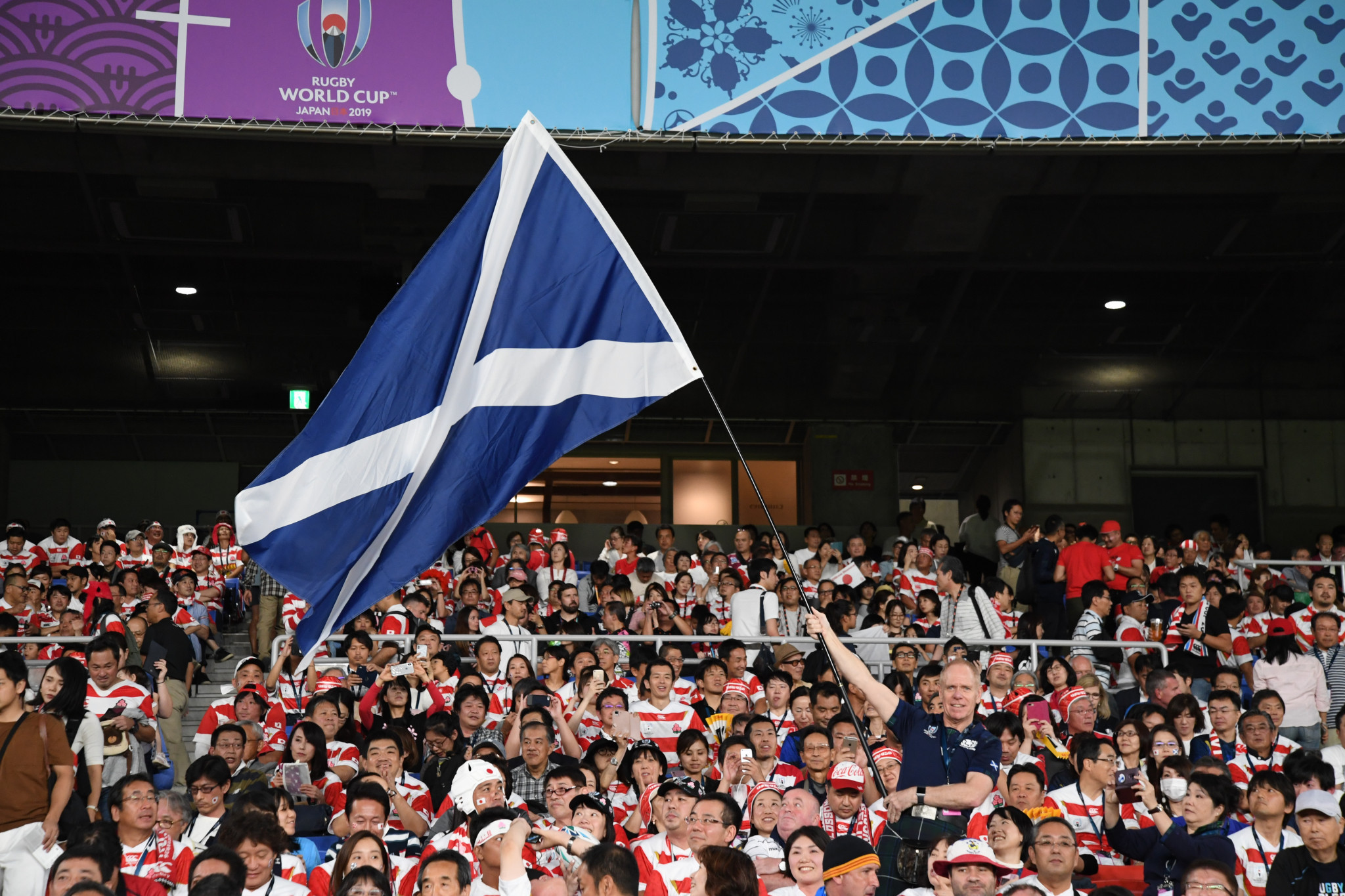 Scottish Rugby Union fined £70,000 over Typhoon Hagibis comments