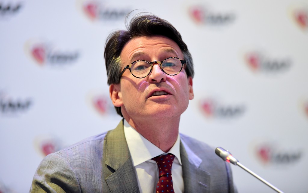 IAAF President Sebastian Coe is due to face the UK Parliament Culture Media and Sport Select Committee who are investigating allegations of blood doping in athletics ©Getty Images