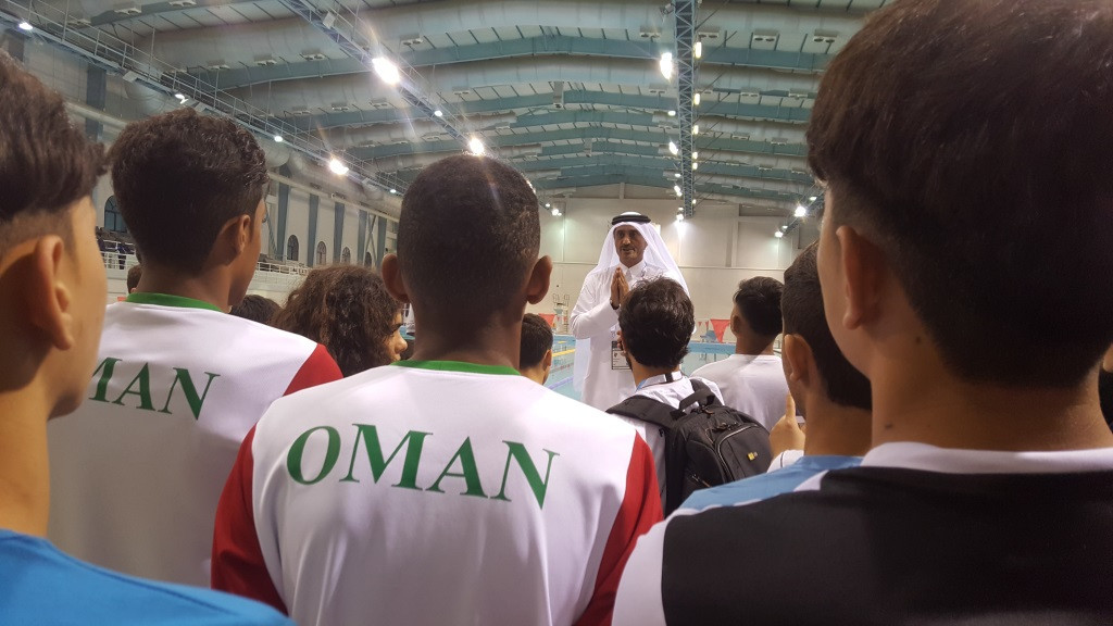 Olympic Council of Asia host youth swimming camp in Qatar