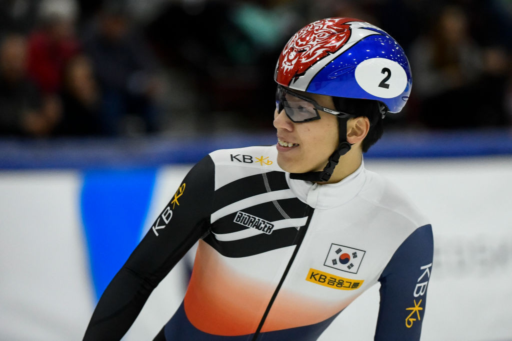 South Korea's Hwang Dae Heon remains the one to beat in the men's field ©ISU