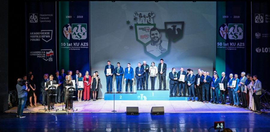 Polish University Sport Federation hold gala to honour athletes