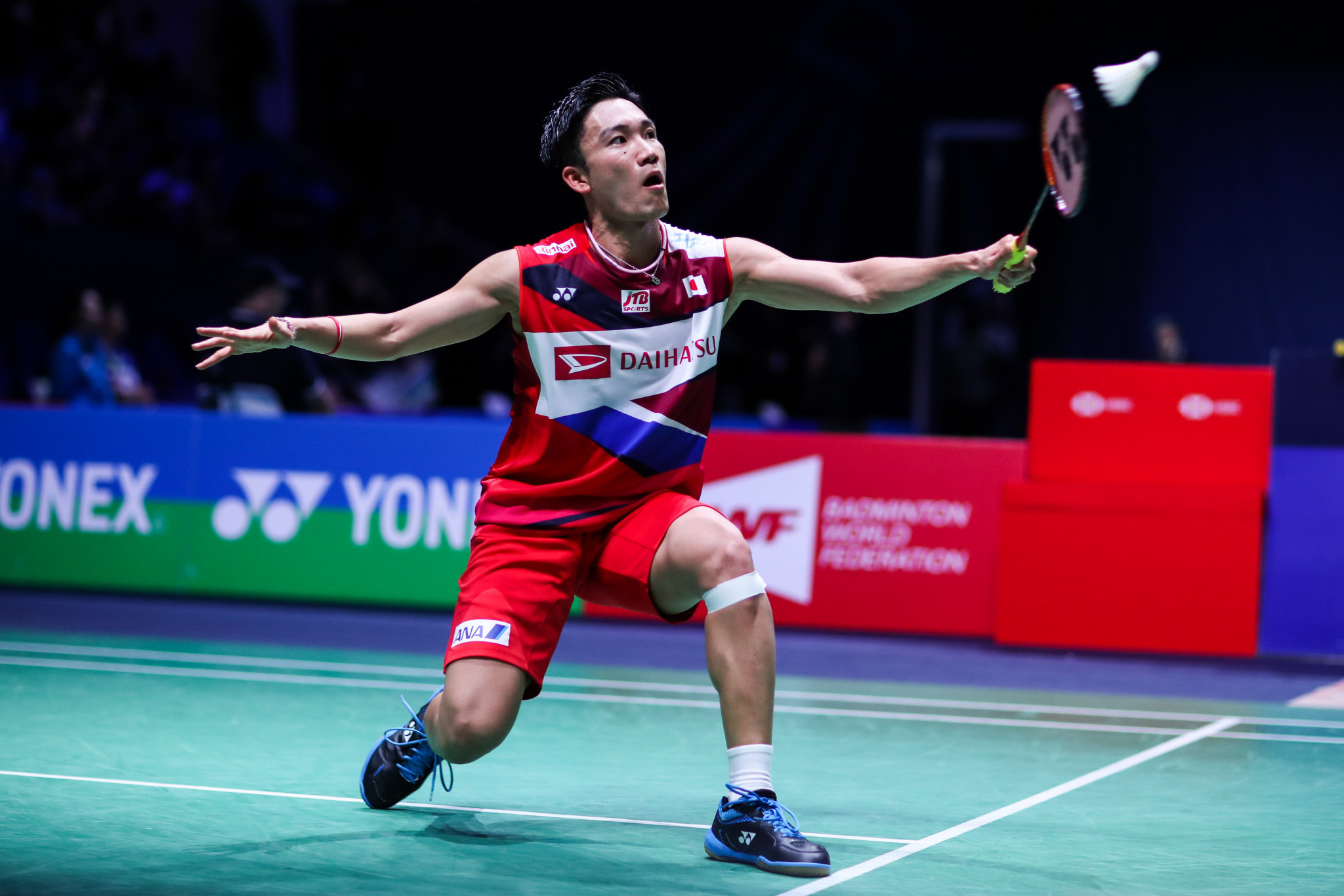 Easy passage to quarter-finals for Momota at BWF Fuzhou China Open