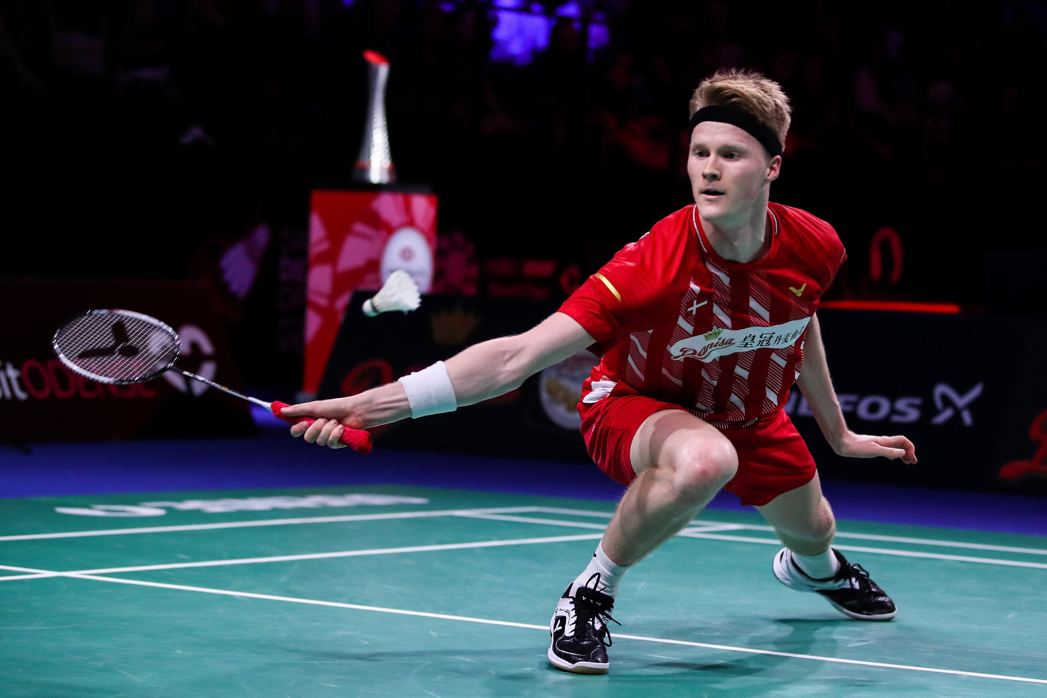 Denmark's Anders Antonsen looks in good form in China ©Getty Images