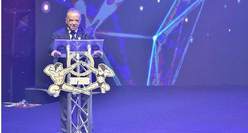 IFFB President Santonja emphasises importance of bodybuilding at World Championships Opening Ceremony