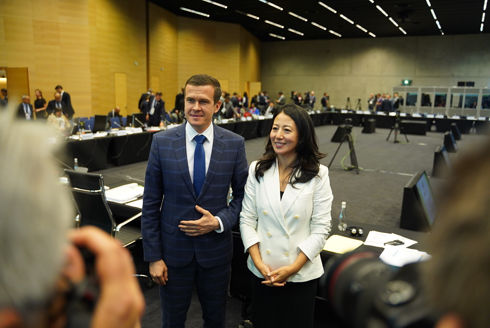 Poland's Witold Bańka and China's Yang Yang were today officially confirmed as the next leaders of WADA ©WADA
