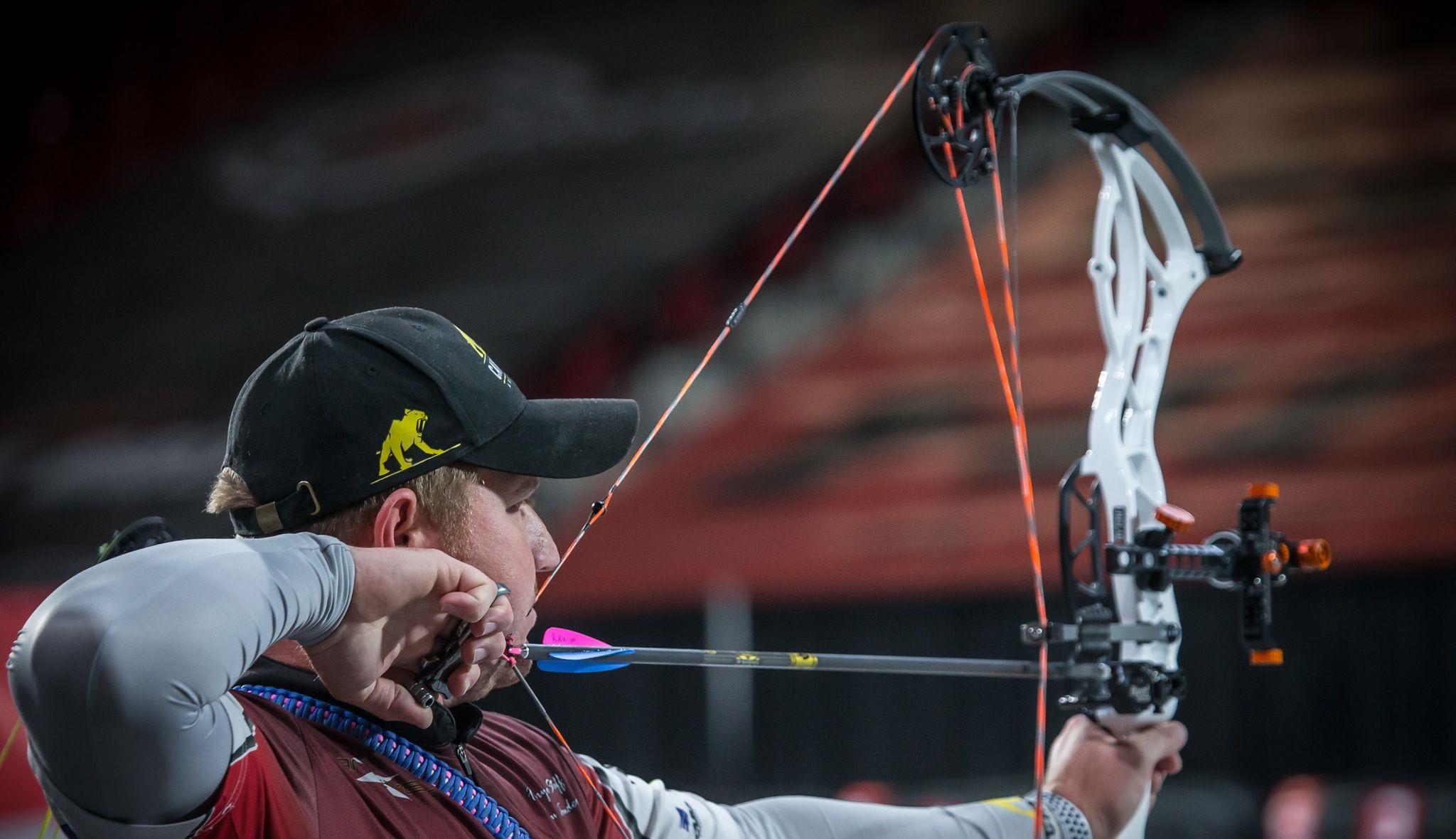 New Zealand's Riku Van Tonder will be looking to make his mark in Macau ©World Archery