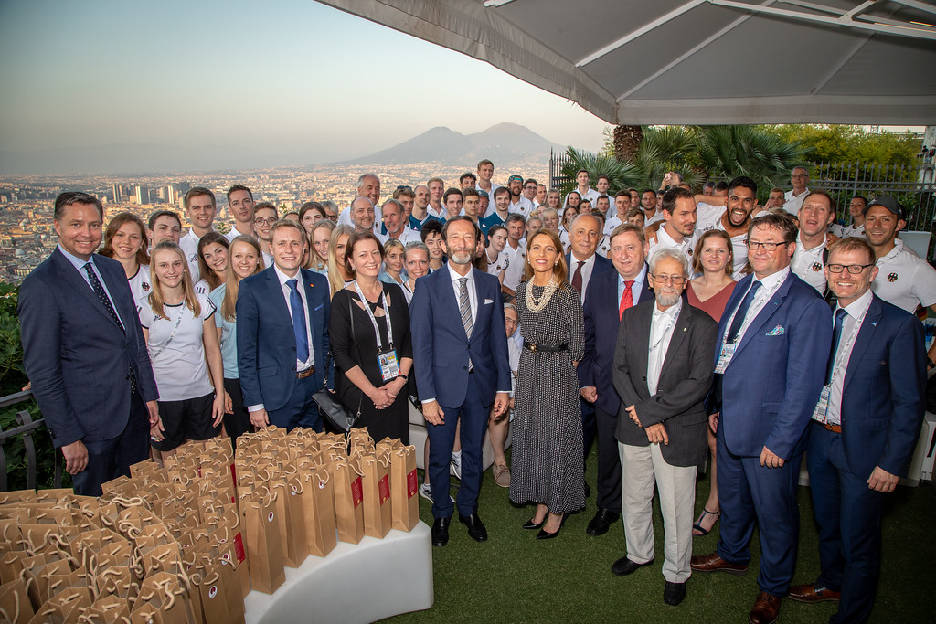 German official claims lessons learned from Naples 2019 as bid plans continue for Summer Universiade