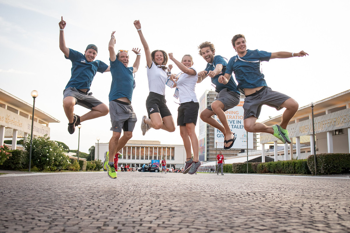 Germany sent a 124 member delegation to the Summer Universiade in Naples ©FISU