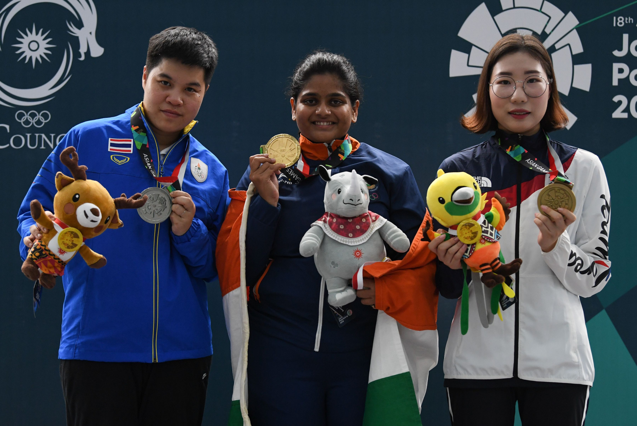 Thailand's Yangpaiboon takes women's 25m pistol title at Asian Shooting Championships