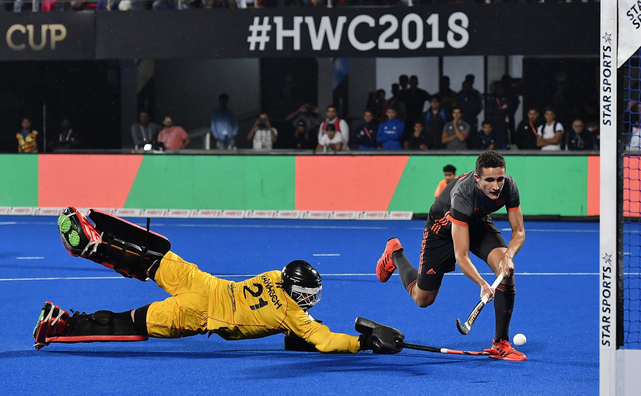 India also hosted the 2018 Men's Hockey World Cup ©Getty Images