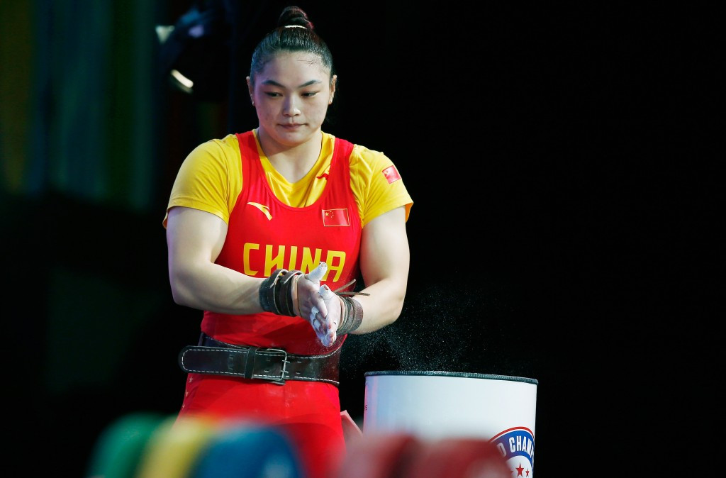 IWF World Weightlifting Championship 2015: Day eight of competition
