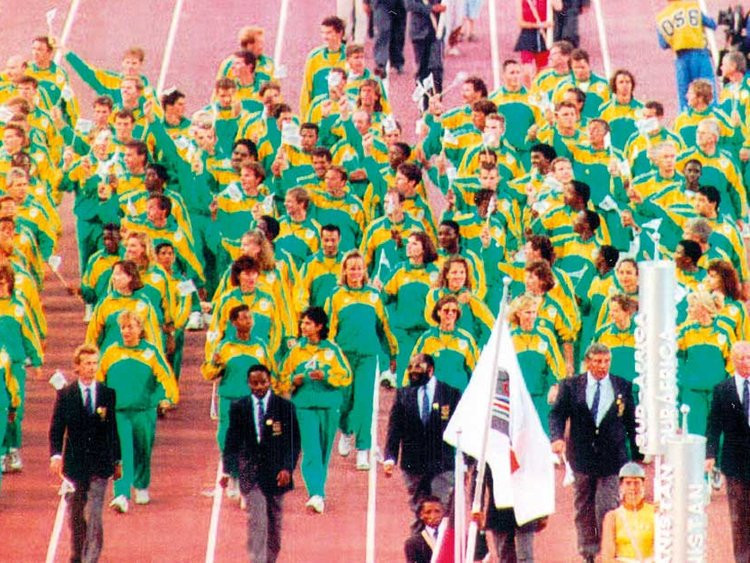South Africa returned to the Olympic Games at Barcelona 1992 after apartheid was abolished ©Getty Images
