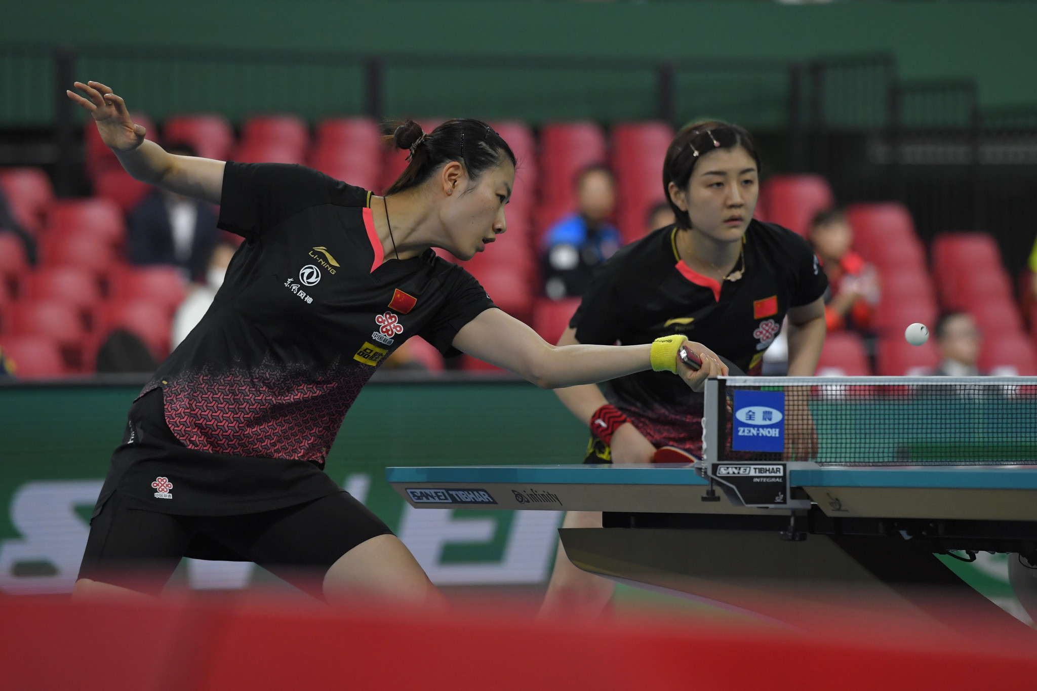 China book semi-final place in women's event at ITTF Team World Cup