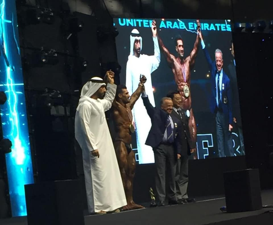 IFBB Men's World Championships: Day one of competition