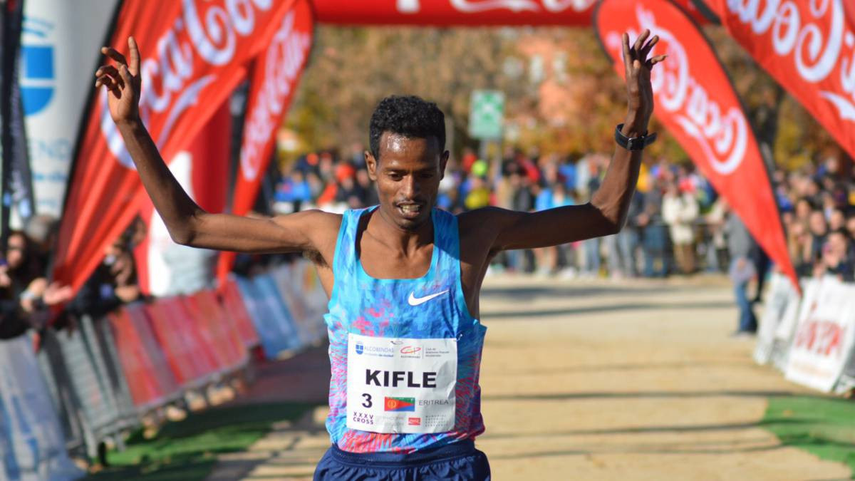 Eritrea's Aron Kifl will spearhead a strong contingent from Africa in the opening race of the IAAF Cross Country Permit series in Burgos in Spain - one of five events this season ©IAAF