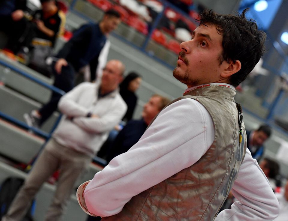 Top seed Foconi learns last-64 opponent at FIE Men's Foil World Cup