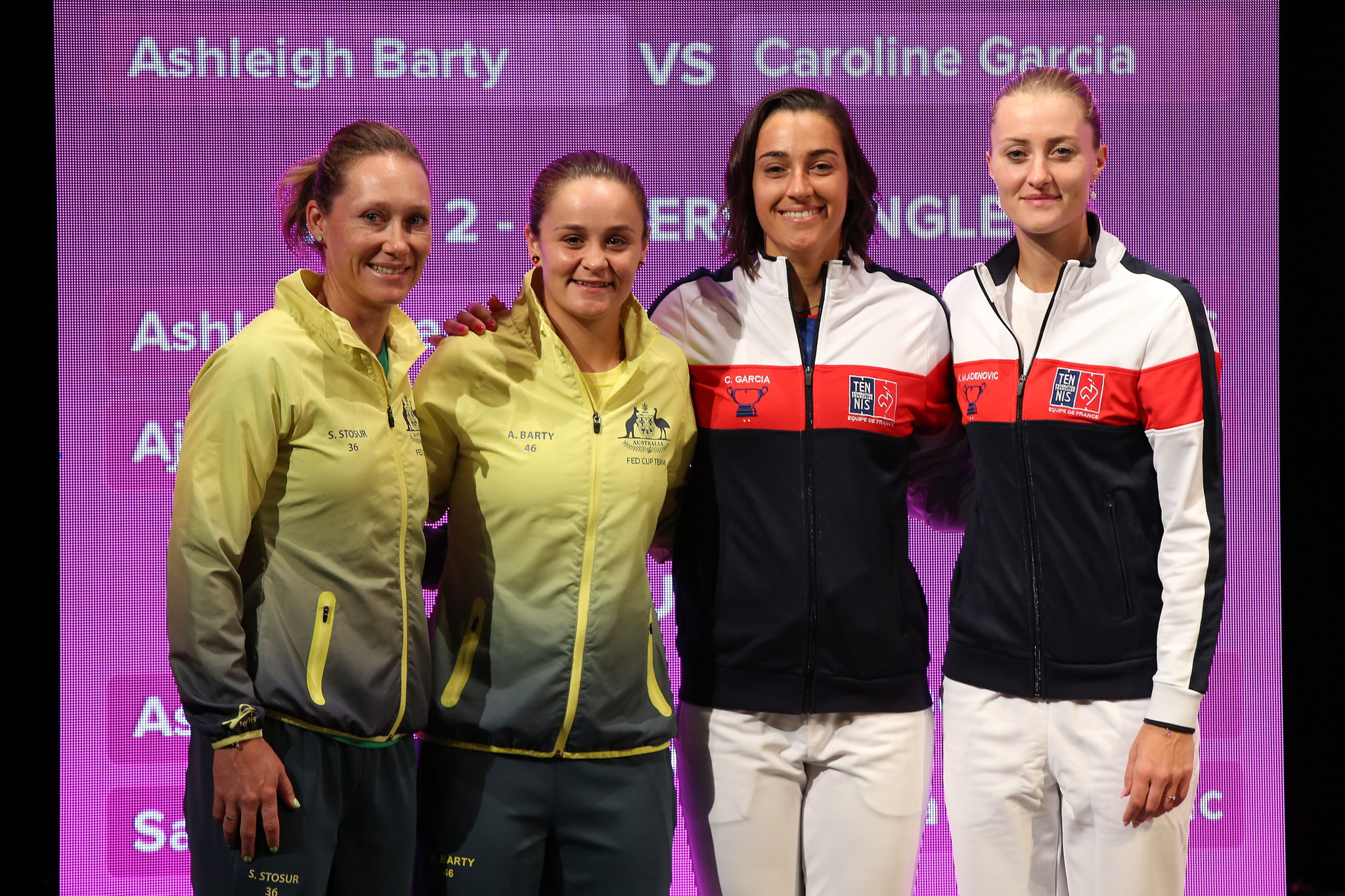 Australia and France will contest the two-day Fed Cup final ©Getty Images