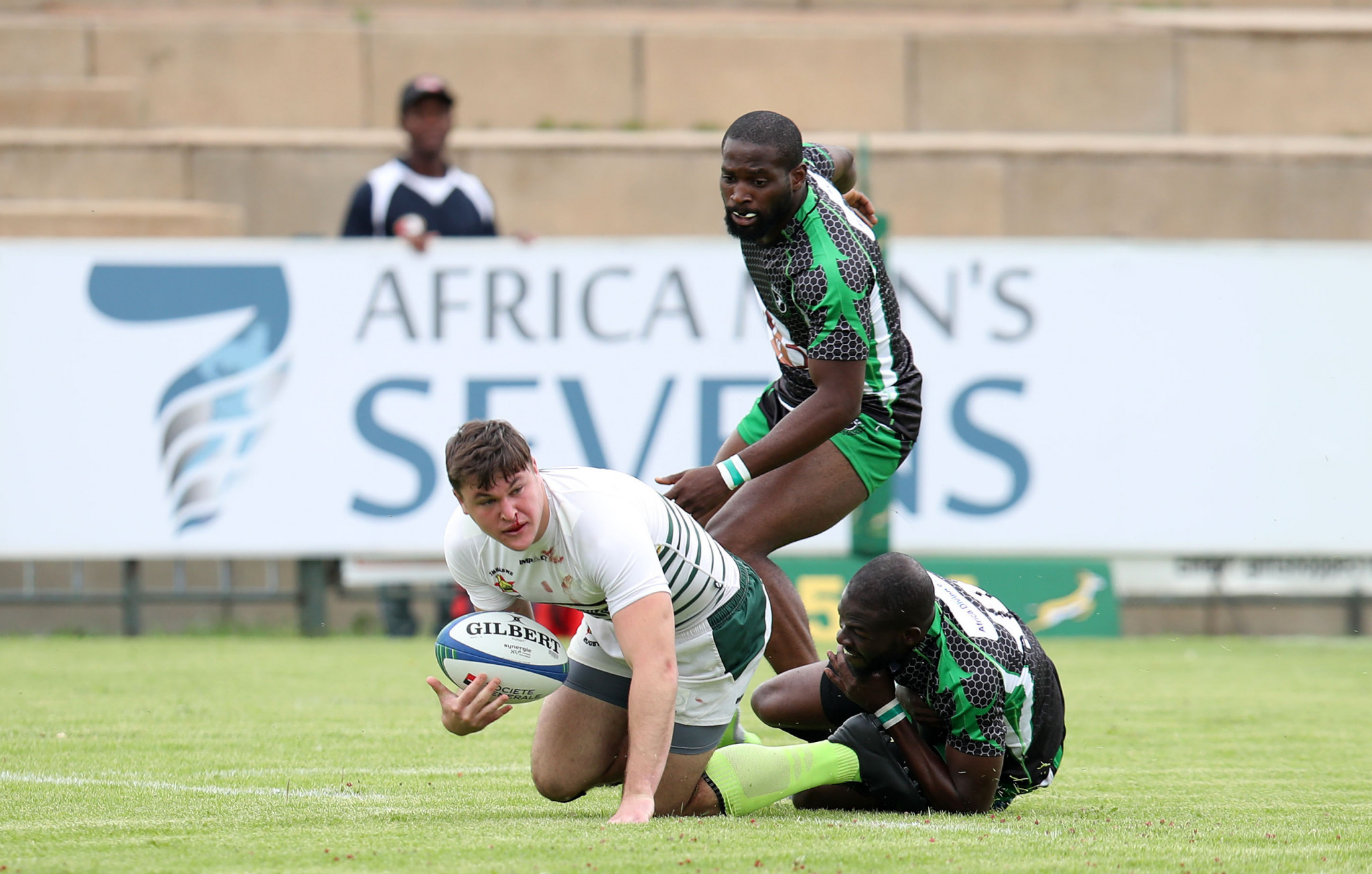 Zimbabwe won all three of their matches today ©Rugby Africa