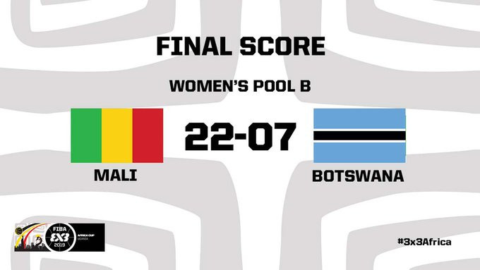 Mali's women make perfect start to title defence at FIBA 3x3 Africa Cup