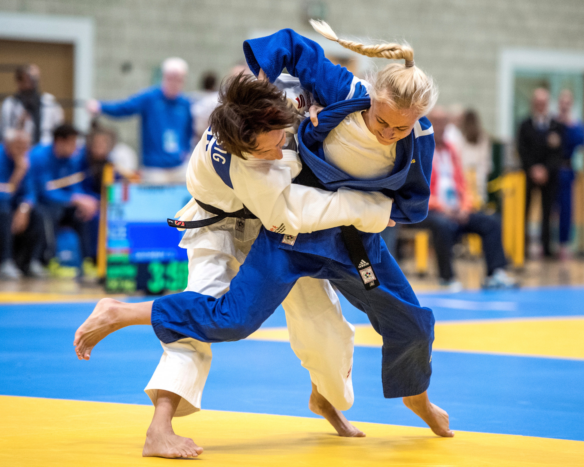 The objective of the IBSA Judo film is to demonstrate to elite coaches what it takes to coach visually impaired athletes to the highest level ©Getty Images