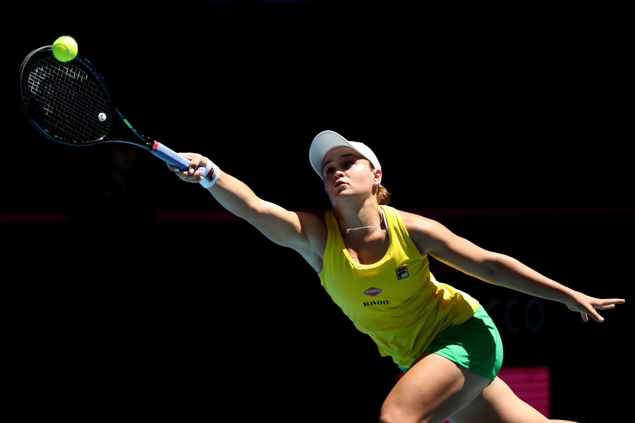 Barty double-bagels Garcia to keep Australia in hunt for Fed Cup glory