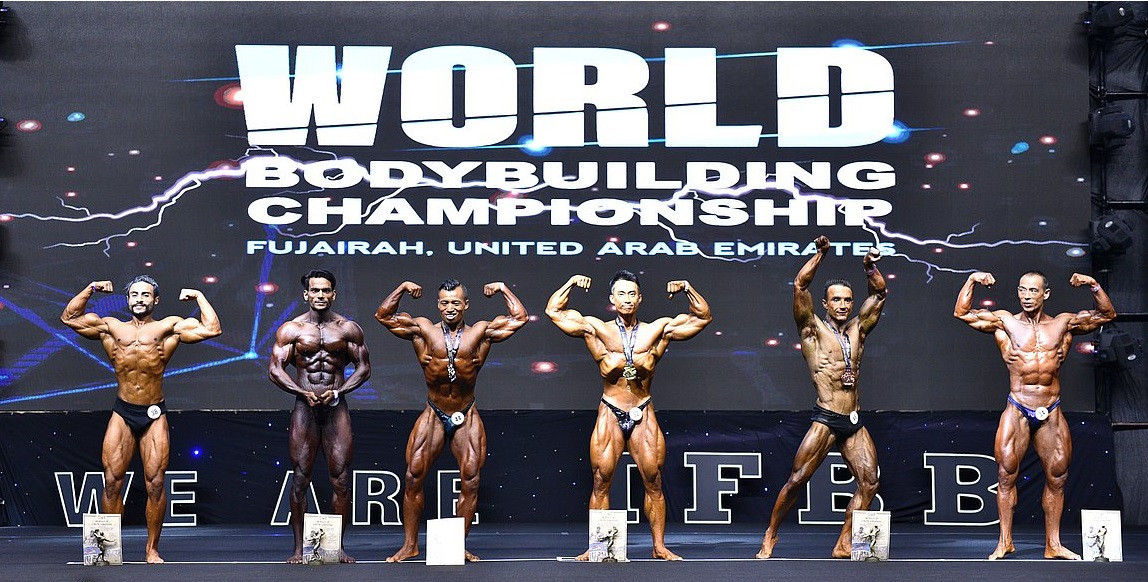 IFBB Men's World Championships: Day two of competition