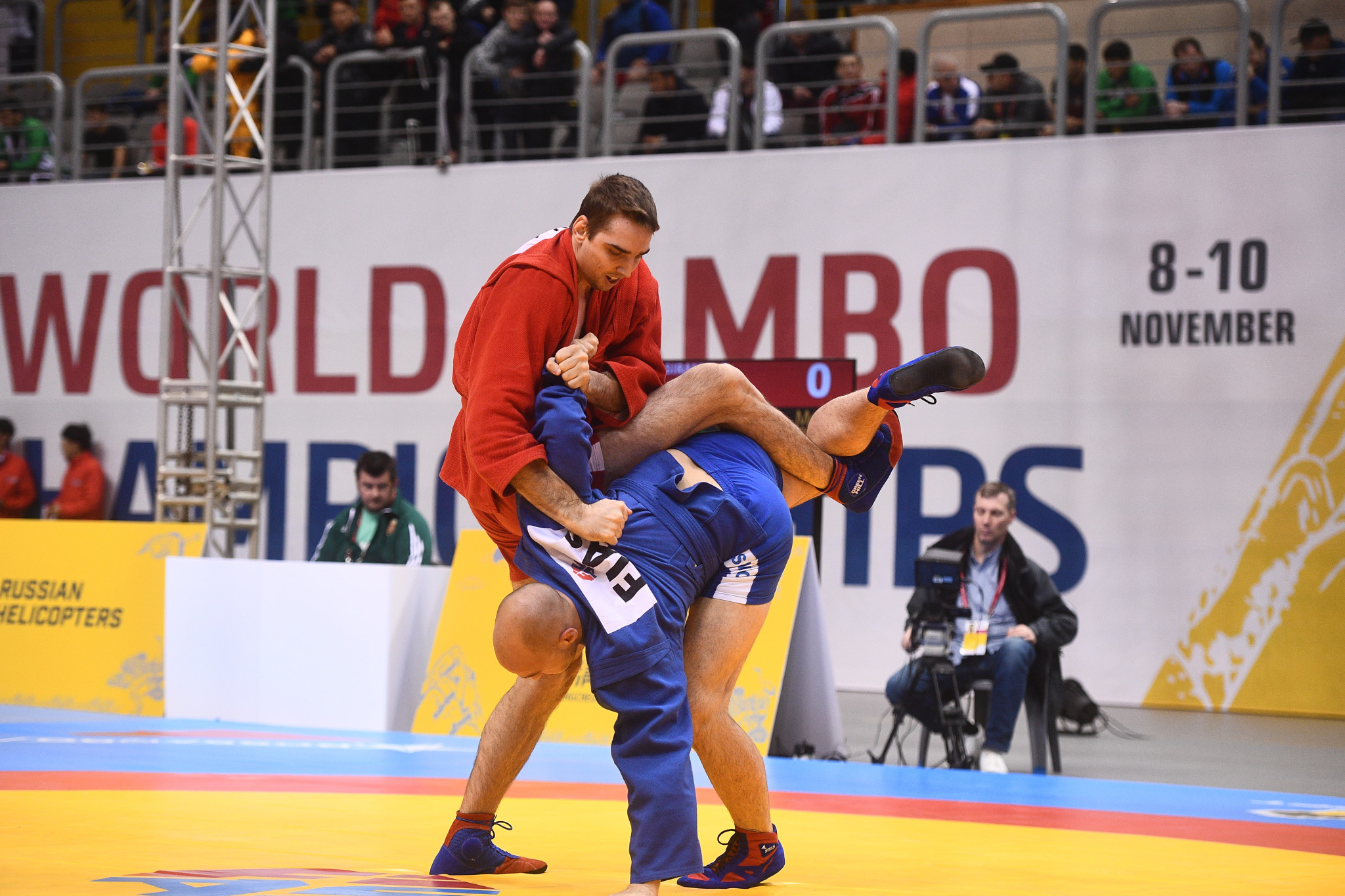FIAS World Sambo Championships: Day two of competition