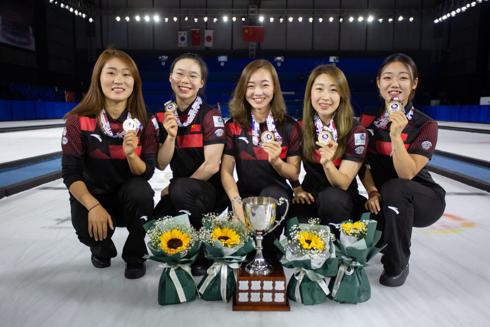 China eased to victory over Japan to take gold in the women's event ©WCF