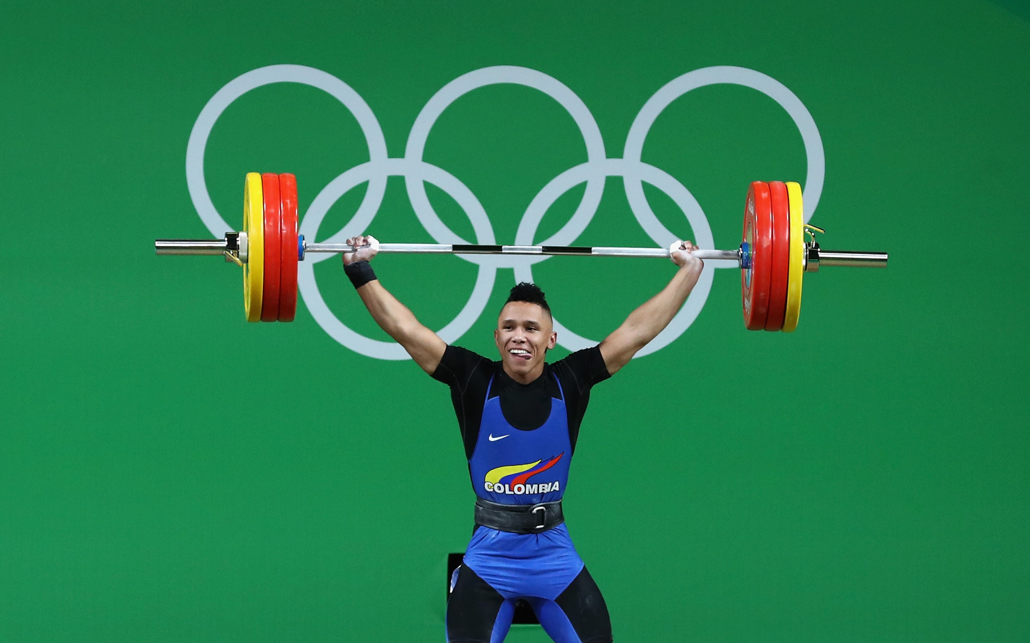 Colombian weightlifting surges on with golden start at IWF Grand Prix in Lima
