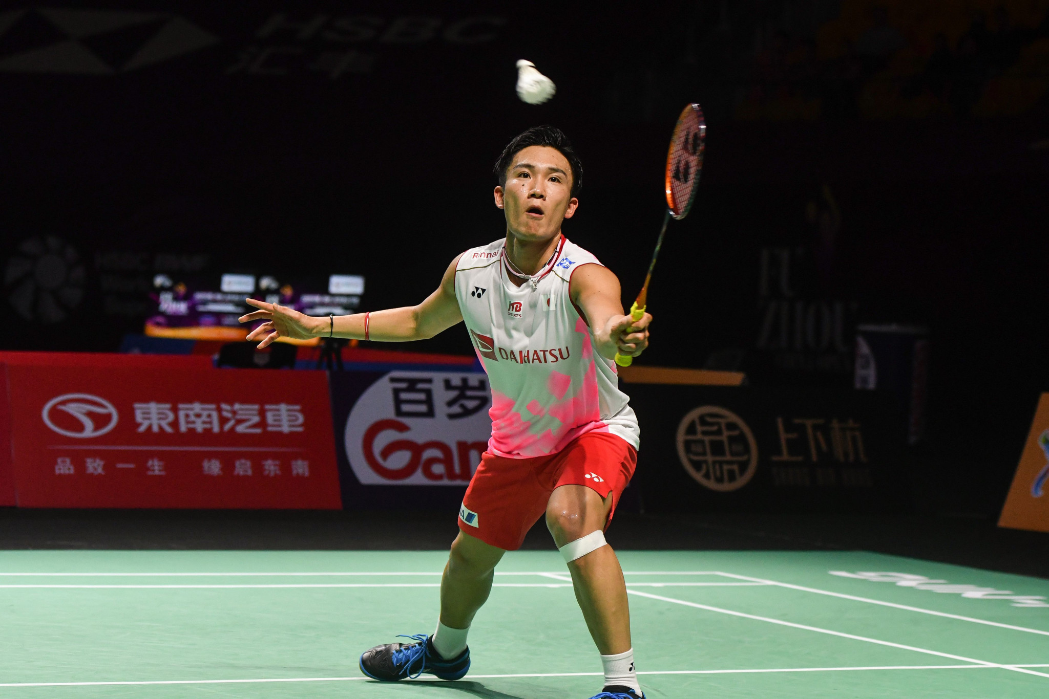 Kento Momota advanced to the men's singles final ©Getty Images