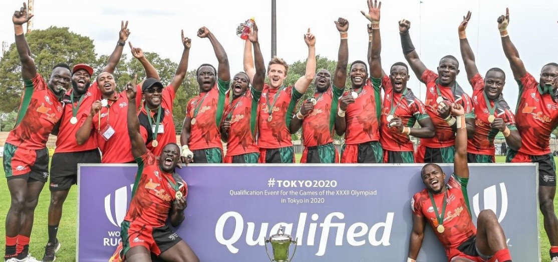 Kenya win Rugby Africa Men's Sevens to qualify for Tokyo 2020