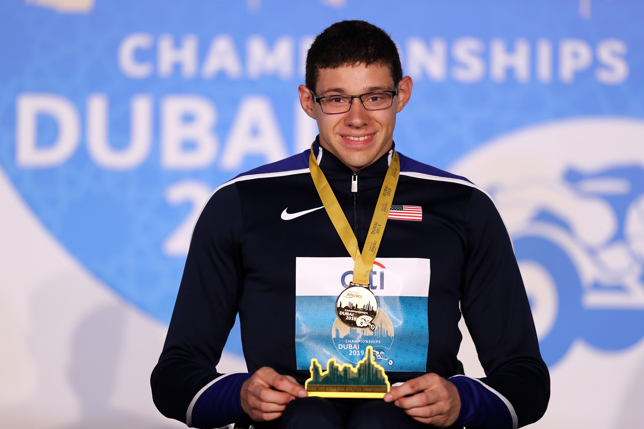 Romanchuk among winners at World Para Athletics Championships in Dubai