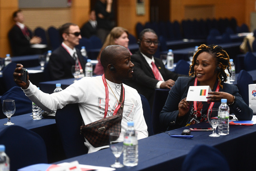 Representatives from Mali attended the International Sambo Federation Annual Congress where the Malian Sambo Federation were approved as full FIAS members ©FIAS