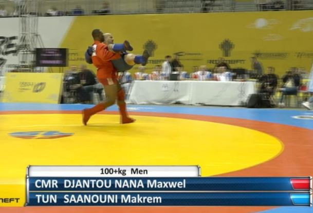Djantou Nana eyes African development after World Sambo Championships silver