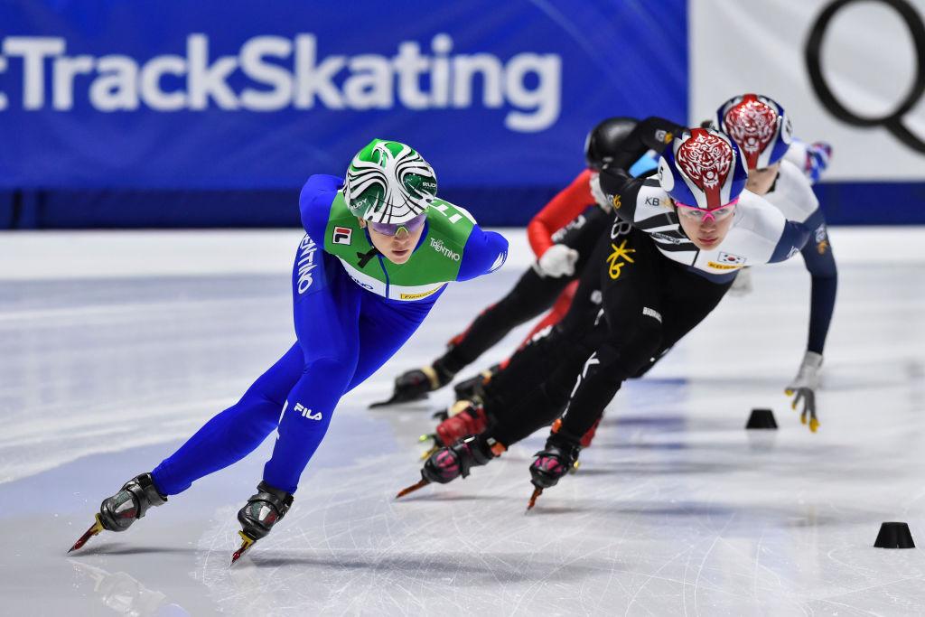 Arianna Fontana from Italy made a long-awaited return in Montreal ©ISU