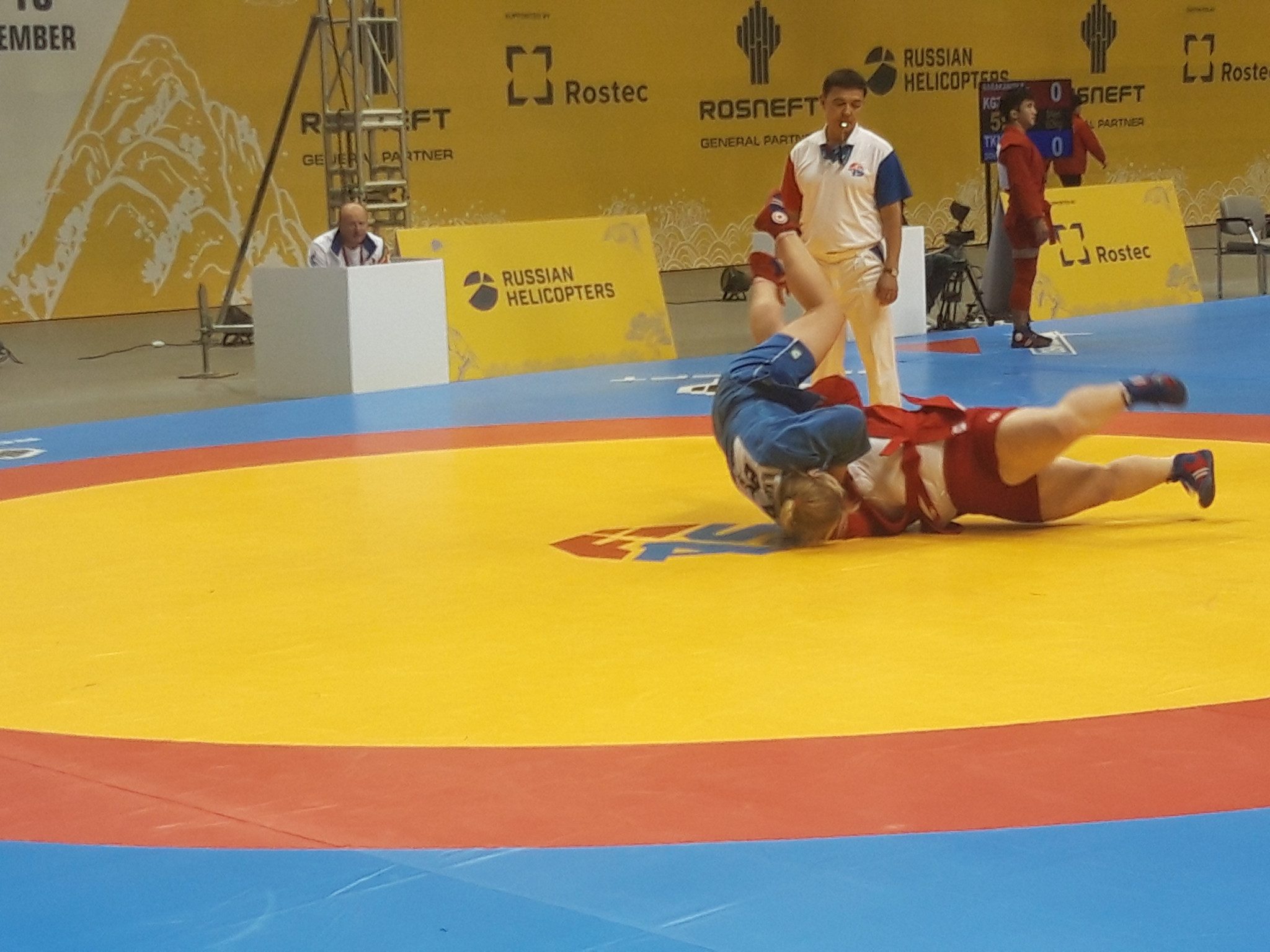 Mariya Kandratsyeva from Belarus defeated defending over 80kg champion Elene Kebadze of Georgia in the semi-finals ©ITG