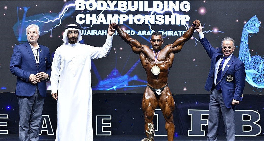 Arzeshmand earns overall bodybuilding title at the IFBB Men's World Championships