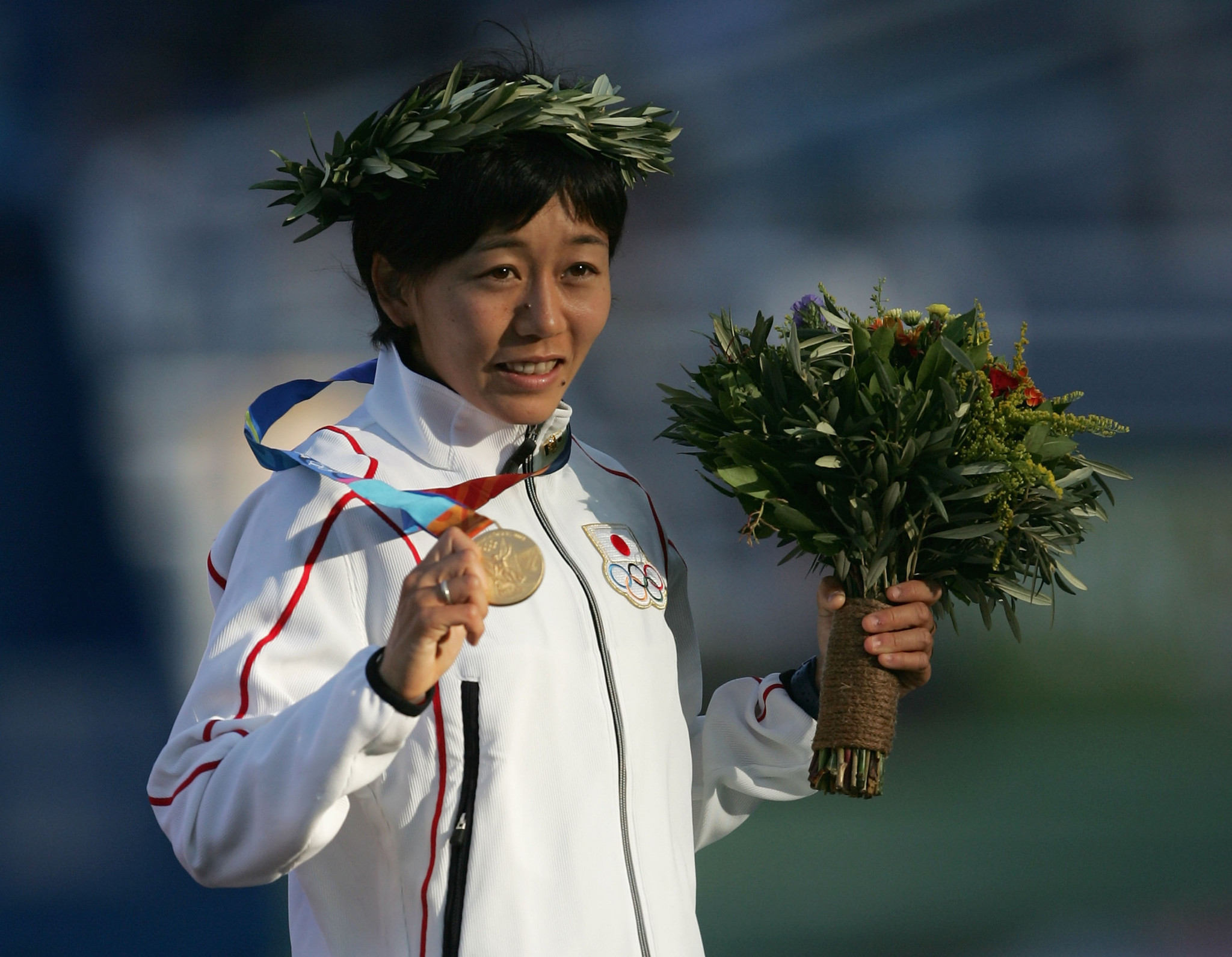Mizuki Noguchi could be the first Japanese Torchbearer after the flame is lit in Greece ©Getty Images