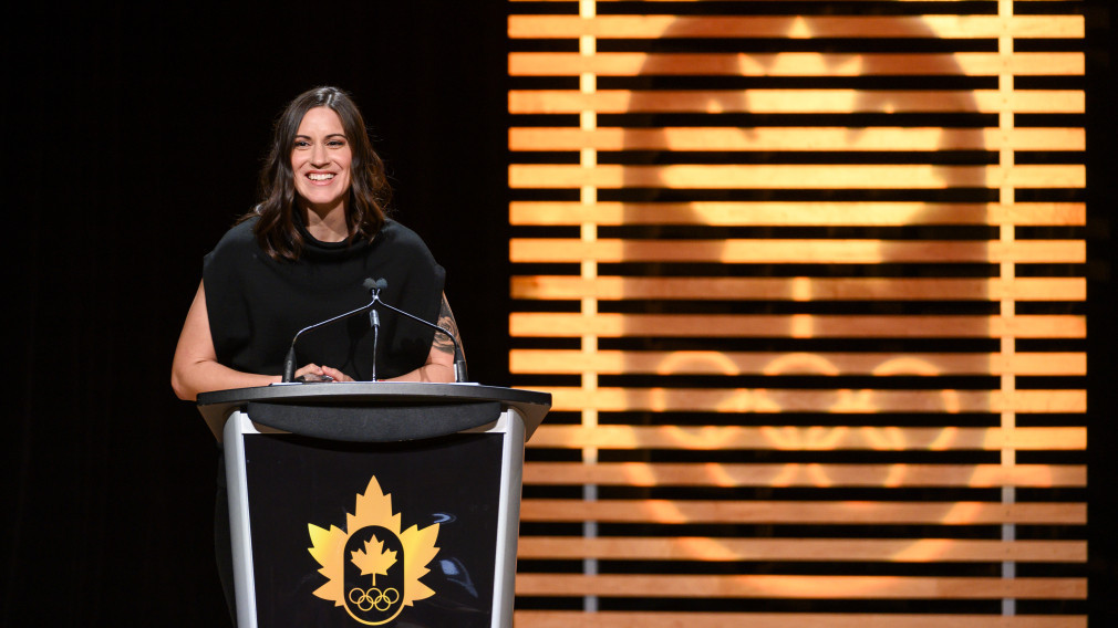 Spencer presented with Canadian Olympic Committee's Randy Starkman Award