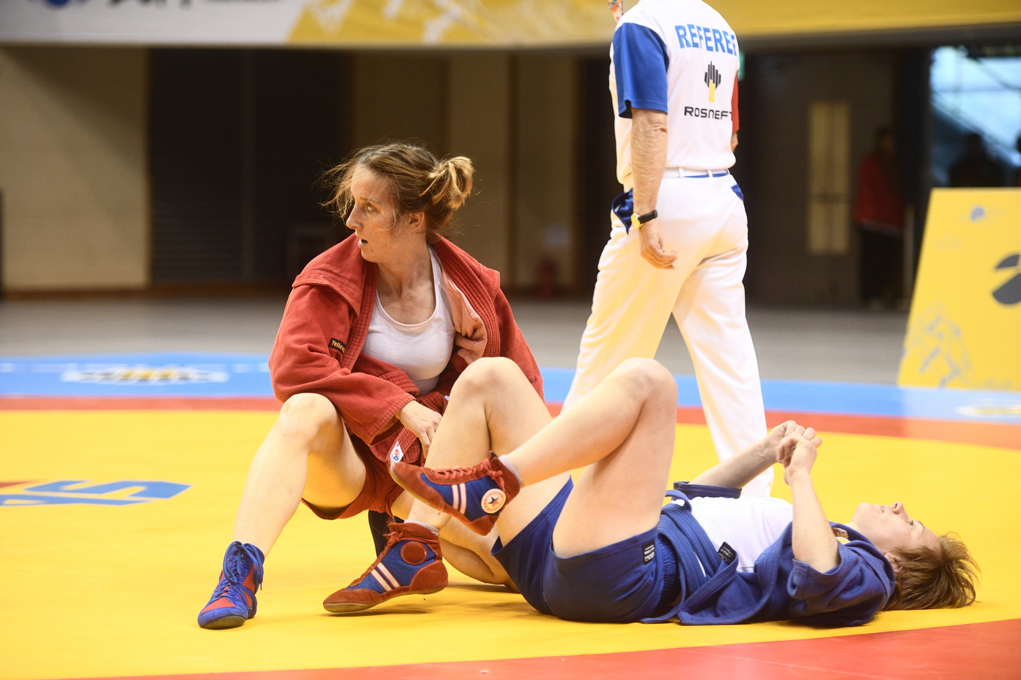 Defending women's 56kg champion Laure Fournier had to settle for silver in Cheongju ©FIAS