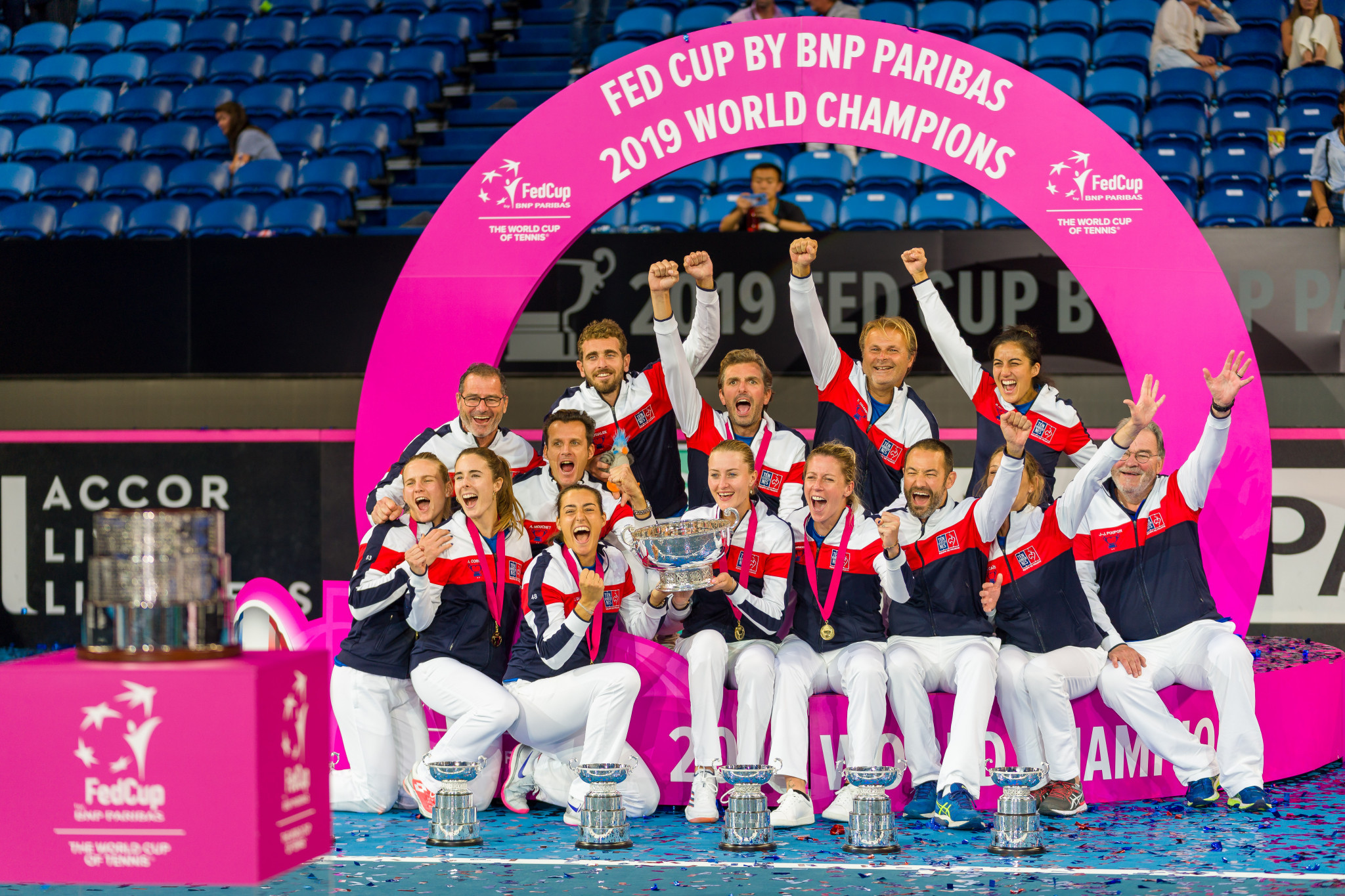 Mladenovic and Garcia clinch title for France in Fed Cup final decider