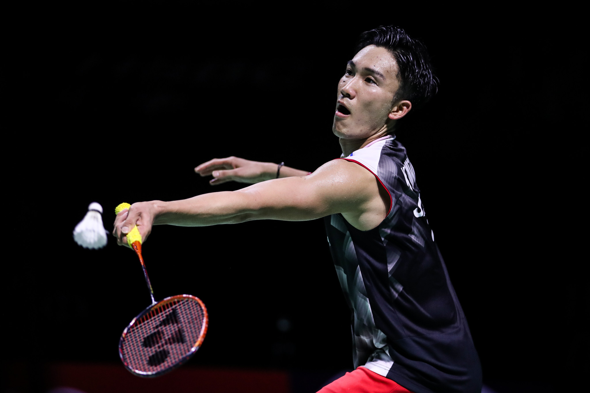 Back-to-back world champion Kento Momota won his 10th title of the season ©Getty Images