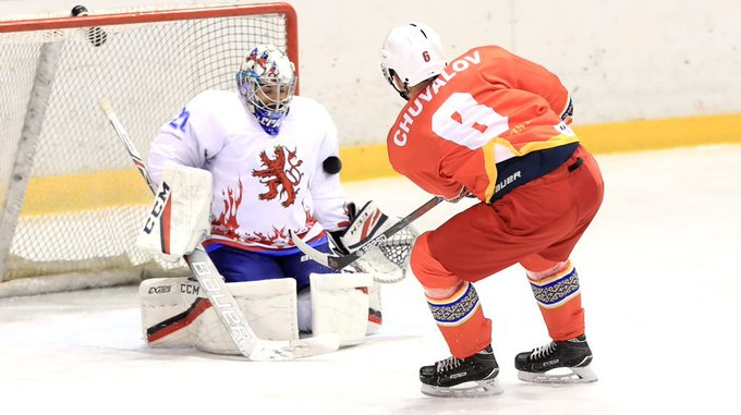 Kyrgyzstan progressed to the second round of pre-qualifying ©IIHF