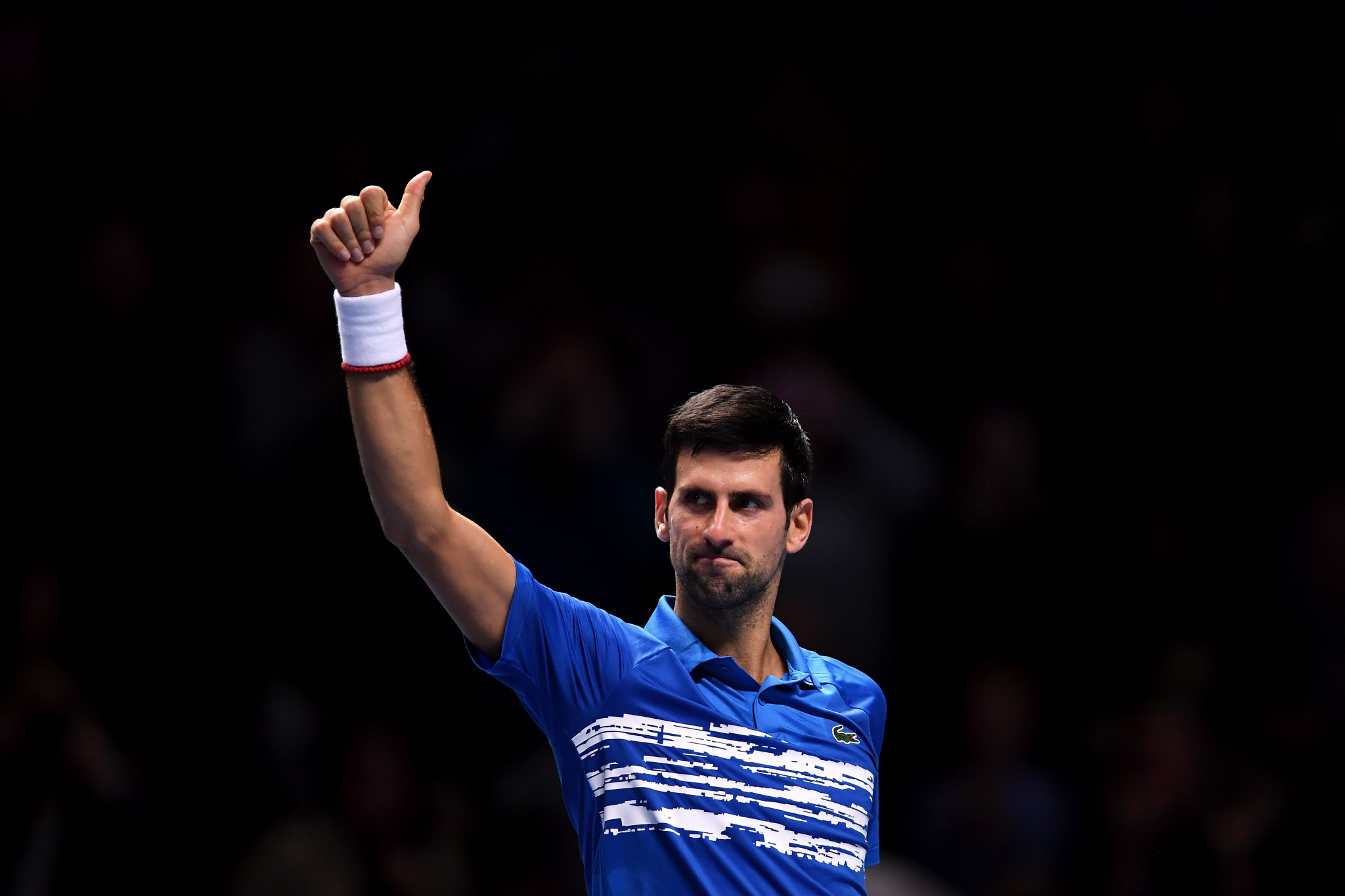 Djokovic begins ATP Finals with impressive victory
