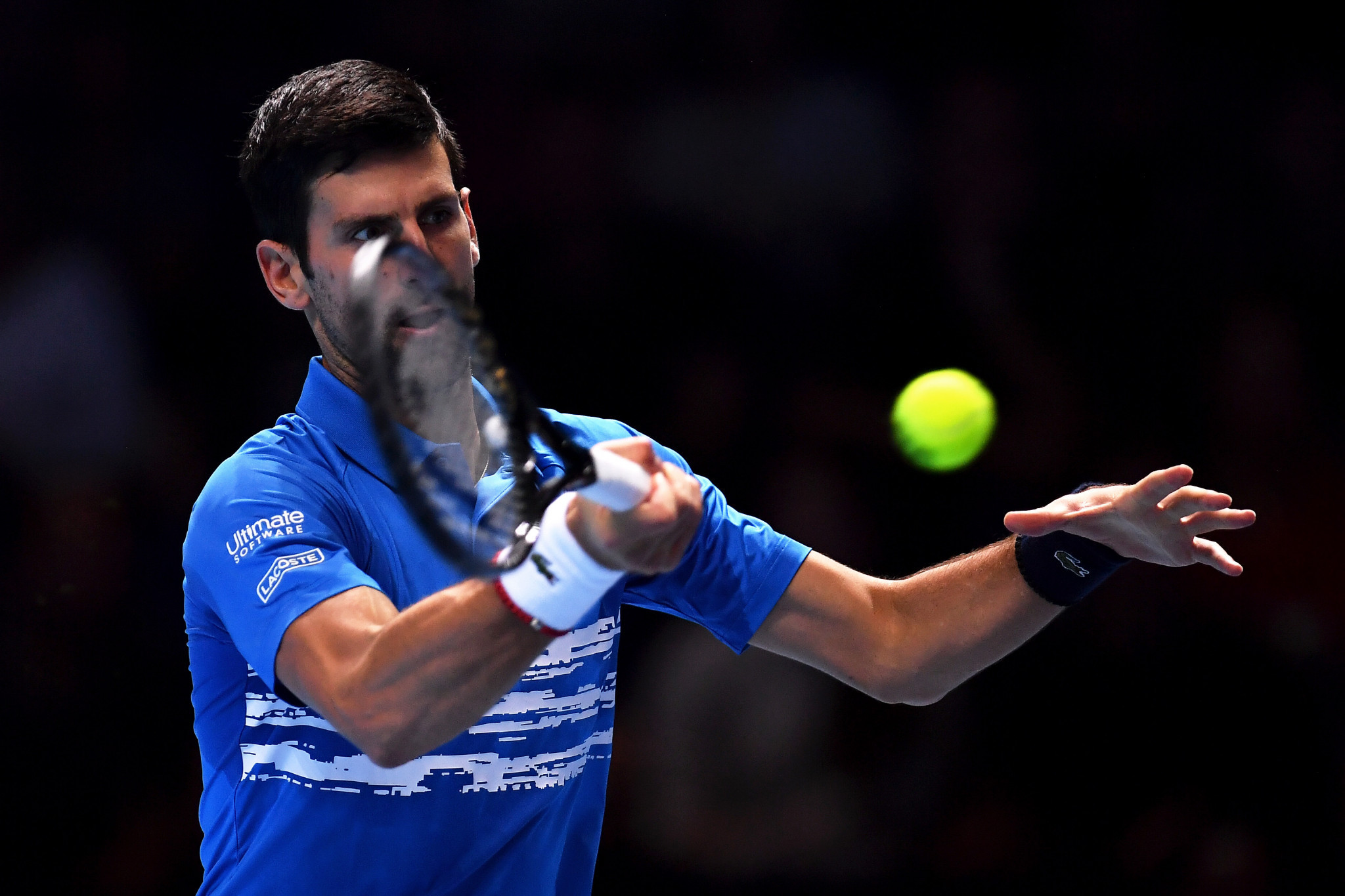 Novak Djokovic is hoping to end the year as the world number one ©Getty Images