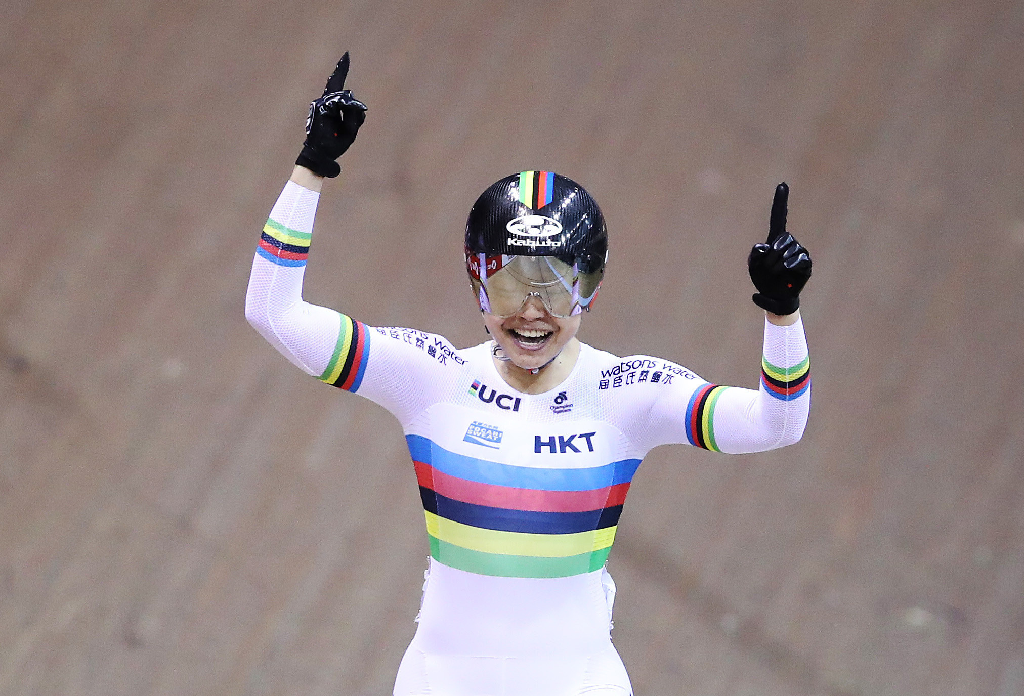 Lee sprints to victory at UCI Track World Cup in Glasgow